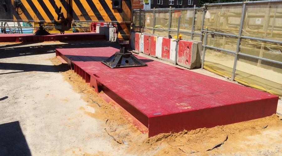 Steel Crane Mat Hire Or Buy Lifting Projects Uk